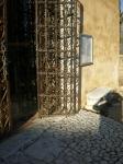 portail, fer forgé, cipiéres, saint claude