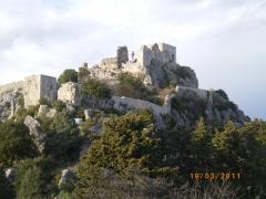 château-fort, sainte agnès